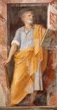 Rome - Paint of Saint Jude Thaddeus Stock Photo