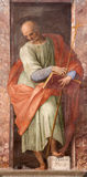 Rome - Paint of Saint Philip the apostle from Santa Maria di Loreto church from 16. cent. Stock Photography