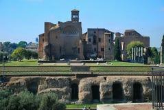 Rome, Palatine.Circus Maximus Stock Photography