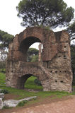 Rome - Palatine Hill - bath of Septimius Severus Royalty Free Stock Image