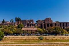 Rome. The Palatine Hill. Stock Photo