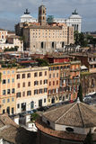 Rome from Palatine Hill Stock Images
