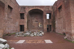 Rome - Palatine Hill - third court Royalty Free Stock Photos