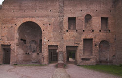Rome - Palatine Hill - third court Royalty Free Stock Photo