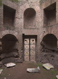 Rome - Palatine Hill - third court Stock Photo