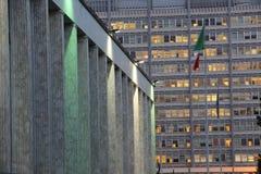 Rome, Palazzo dei Congressi Stock Images
