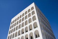 Rome - Palazzo della Civiltà Royalty-vrije Stock Foto