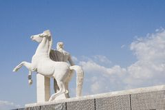 Rome - Palazzo della Civiltà Stock Afbeeldingen