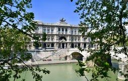 Rome, Palazzo Di Giustizia Royalty-vrije Stock Foto