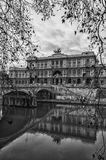 Rome Palazzo di Giustizia Monochrome edit Royalty Free Stock Photography