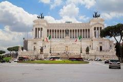 rome Paleis op het vierkant van Venetië Royalty-vrije Stock Afbeeldingen