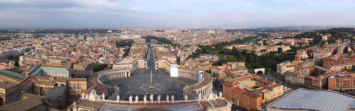 Rome panorama Royalty Free Stock Photography