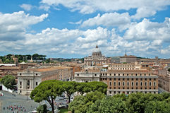 Rome panorama 4 stock images