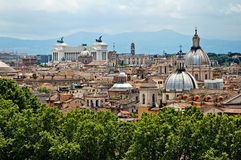 Rome panorama 5 royalty free stock photography