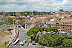 Rome panorama 6 stock image