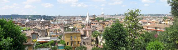 Rome panorama Stock Photo
