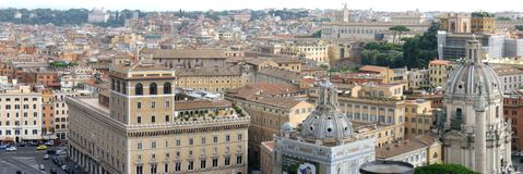 Rome panorama Stock Photography