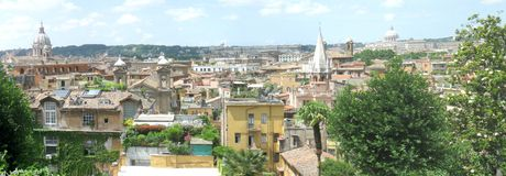 Rome panorama Royalty Free Stock Photos