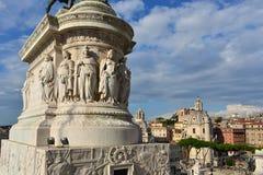 Rome panorama from Vittoriano Stock Image