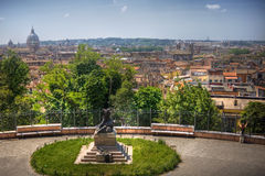 Rome panoramic landscape Stock Photos