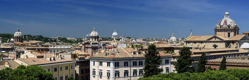 Rome Panoramic view royalty free stock image
