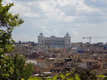 Rome Panoramic view Royalty Free Stock Photo