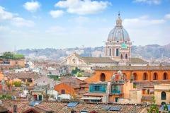 Rome Panoramic view. Stock Photos