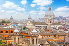 Rome Panoramic view. Royalty Free Stock Photo