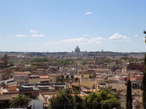 rome panoramiczny widok obrazy stock
