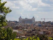 rome panoramiczny widok zdjęcie royalty free