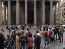 Rome panteon arkivbilder