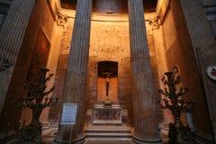 Rome Pantheon. Pantheon Interior Rome Empire Building in Rome Italy Stock Photos