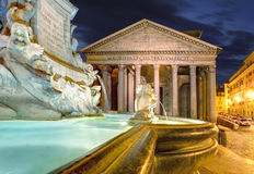 Rome - Pantheon, Italy Royalty Free Stock Photo