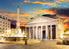 Rome - Pantheon, Italy Royalty Free Stock Photography