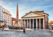 Rome - Pantheon, nobody Royalty Free Stock Images