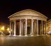 Rome pantheon piazza Royalty Free Stock Image