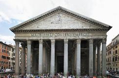 Rome Pantheon XL Stock Photography