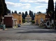 Rome - par l'intermédiaire de del Verano Images libres de droits