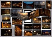Rome par nuit Photos libres de droits