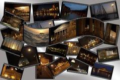 Rome par nuit Image libre de droits