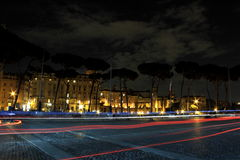 Rome par nuit Photo stock