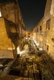 Rome par nuit, un point de vue différent photo stock