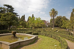 Rome - park from Palatine hill Royalty Free Stock Photography