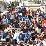 Rome people Royalty Free Stock Photos