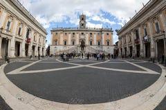 Rome. piazza del campidoglio Stock Image