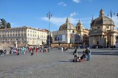 Rome - Piazza del Popolo Royalty Free Stock Photo