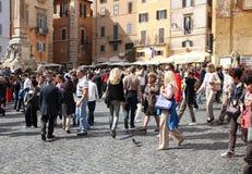 Rome - Piazza della Rotonda Stock Photography