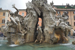 Rome - Piazza di Navona Stock Photo