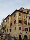 Rome, Piazza Di Spagna Stock Afbeelding