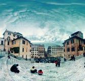 Rome piazza di Spagna Stock Photography